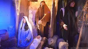 Birth Of Jesus Scene At Every Christmas ...