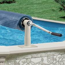 above ground pool covers. Aqua Splash Pro Above Ground Solar Blanket Reel For Inground Swimming Pools At PoolProducts.com Pool Covers P