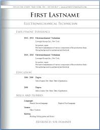 Download Resume Templates Word Free Download Free Resume Templates For Word Airexpresscarrier Com
