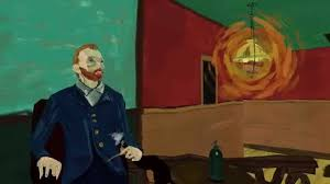 a virtual reality tribute to vincent van gogh and his famous painting the night café