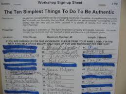 Potluck Sign Up Sheet Template Word