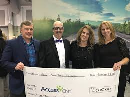 accesscny was recently awarded a 2 000 grant from the million dollar round table mdrt foundation to support services for veterans with mental health