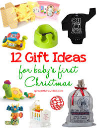 Baby's first Christmas gift ideas!
