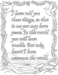 Free Printable Bible Coloring Pages With Scriptures Print Out