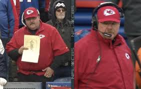 andy reid chiefs. a fake andy reid was spotted at the chiefs-bills game sunday. chiefs
