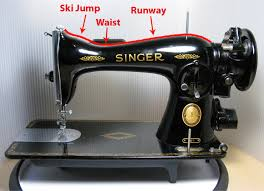 Antique Singer Sewing Machine Model 15 91