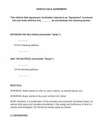 Comprehensive microsoft word templates repository to download hundreds of free word templates, including resume, calendar, invoice, receipt, agenda, letter, form. Vehicle Sale Agreement Sample Template Word And Pdf