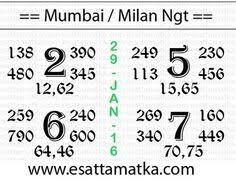 Mumbai Patti Chart 38 Best Dp Singh Images Satta Matka King Kalyan Tips