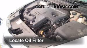 oil filter change chevrolet bu 2008 2012 2010 chevrolet 5 oil filter
