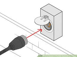 how to connect a portable generator to a house steps image titled connect a portable generator to a house step 8