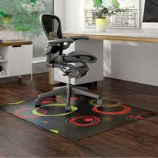 hardwood floor chair mats. Contemporary Circle Chair Mats For Hardwood Floor- Black Floor H