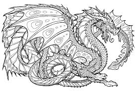 Small Picture Printable Fire Breathing Dragon Coloring Pages With Page At glumme