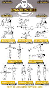 Chest Chart Gym 12 Competent Chest Workout Chart Step By Step