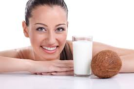 Image result for coconut milk benefits face
