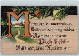 Spruch Mutterliebe Verse Reime Türschilder Buchstaben Ak