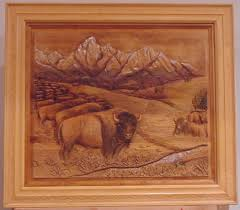 reliefs shadowboxes other fine art carving annual bear start to finish