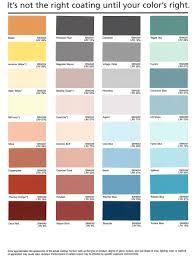 Coral Paint Color Chart Com Fab Inc