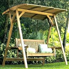 swing with canopy outdoor patio swing cover garden swing roof cover wooden canopy swing l patio swing with canopy patio