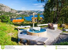Outdoor Jacuzzi Outdoor Hot Tub Stock Photo Image 43468017