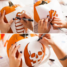 Carve Your Own Anatomy Pumpkins With
