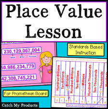 Place Value Flip Chart Promethean Place Value For Promethean Board By Catch My Products Tpt