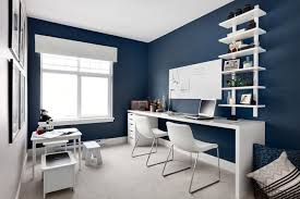 office blue. Blue Office Design