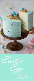 Easter Egg Cake Classic Robins Egg Recipe Made With Moist Vanilla