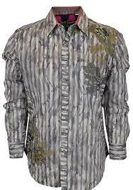 Robert Graham Shirt Size Chart New Robert Graham 398 Limited Edition Numbered Kingfish Sports Dress Shirt Ebay
