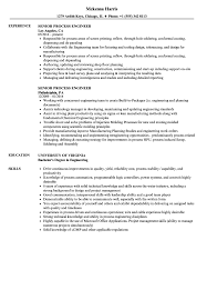 Process Engineer Resume Sample Senior Process Engineer Resume Samples Velvet Jobs 8