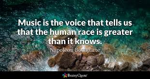 Racing Quotes 55 Amazing Music Is The Voice That Tells Us That The Human Race Is Greater Than