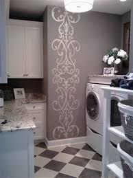 Metallic Home Decor Metallic Decal Laundry Room Home Decor Decorative Laundry Room