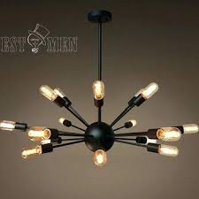 edison light chandelier cool light chandelier stylish com throughout bulb edison light fixture pottery barn