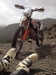 test new ktm freeride 350 in morocco sky is the limit annie