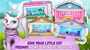 Small Picture Pet Cat House Decoration Games My Home Simulator Apps 148Apps
