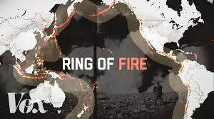 volcanoes and earthquakes the pacific ring of fire is very active this year vox
