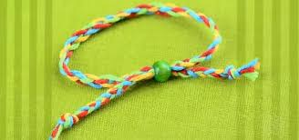 Braided Bracelet Patterns Delectable How To Braid A Super Easy Friendship Bracelet With Four Strands