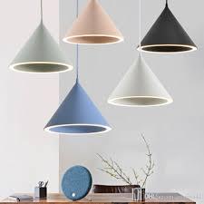 unique creative nordic restaurant bar round halo chandelier pendant lamps led macaron aluminum design art chandelier hanging ceiling lamp unique pendant