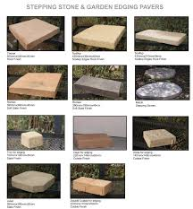 garden edging stone. Arum Cast Stone Stepping And Garden Edging Pavers