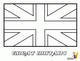 Small Picture Coloring Pages Flag Of Great Britain England United Kingdom Flag