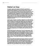 in this essay i will explain the methods or rules of statutory  medical law essay