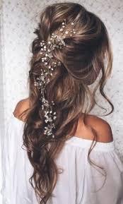 Svatební účesy Dlouhé Rozpuštěné Vlasy