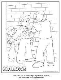 Small Picture Cub Scout Coloring Pages