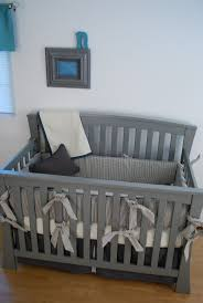 best grey crib bedding images on pinterest