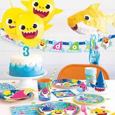 baby shark birthday party theme