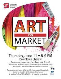 Art Event Flyer Art On Market