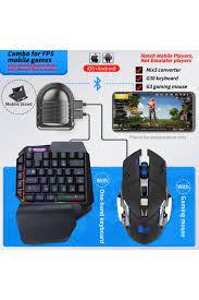 Enyatec Mıx 3 - Pubg Oyun Konsolu Klavye Mouse Bağlayıcı 3in1 - Mousepad  Hediyeli Fiyatı, Yorumları - TRENDYOL
