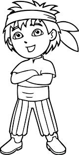 Dora The Explorer Free Coloring Pages Predragterziccom