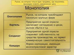 Реферат Сущность монополии Экономика реферат на тему монополия