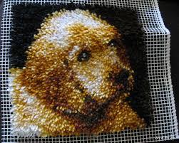 kids craft latch hook rug