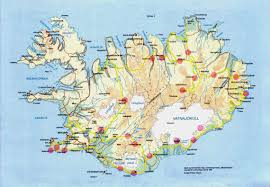 maps update  iceland tourist attractions map – iceland